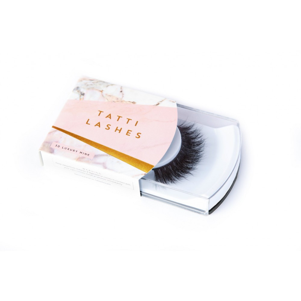Gene False Banda Mink par nurca 3D Tatti Lashes TL1