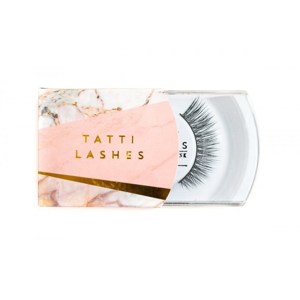 Gene False Tatti Lashes Mink par nurca TL19