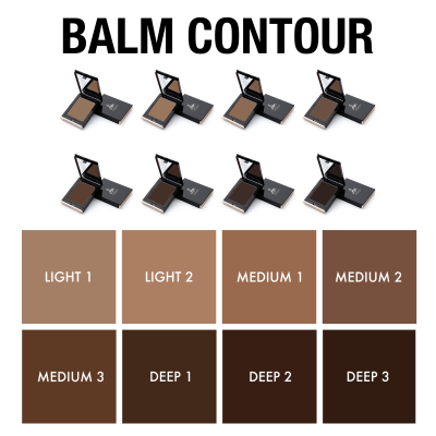 DANESSA MYRICKS BEAUTY BALM CONTOUR DEEP 3