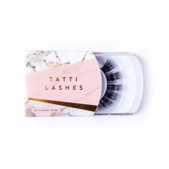 Gene False Banda Mink par nurca 3D Tatti Lashes TL8