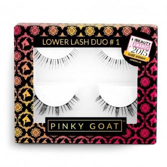 Gene False Banda Pinky Goat Multipack Set 2 bucati Lower Lash #1