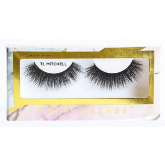 Gene False Banda Mink Nurca 4D Tatti Lashes Mitchell