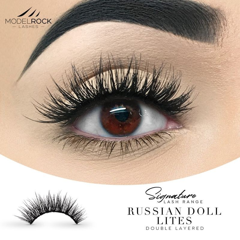ModelRock Lashes 2D Russian Doll Lites