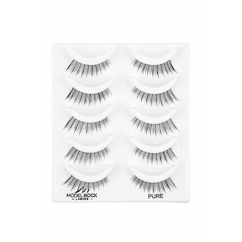 ModelRock Lashes 2D Pure 5 pack