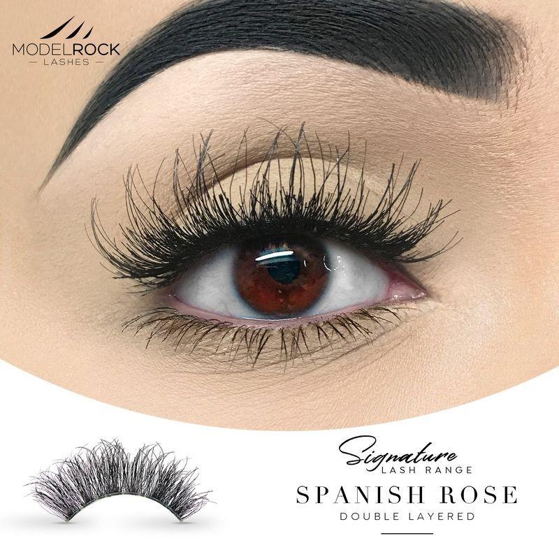 ModelRock Lashes 2D Spanish Rose